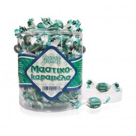 Kristallbonbons mit Mastix aus Chios. In ovaler, transparenter Schachtel 250g