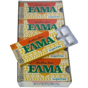 ELMA Sugar free gum with mastic.