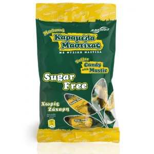 Sugar free mastic soft candy Bag 100g