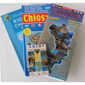 Road and tourist maps of Chios
