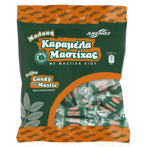 Mastic candy toffee. Bag 200g
