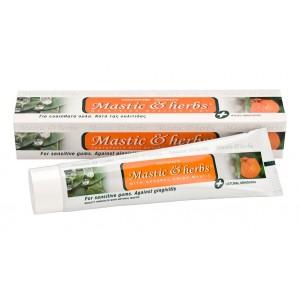 Dentifrice Mastic & Herbs avec au mastic et à la mandarine