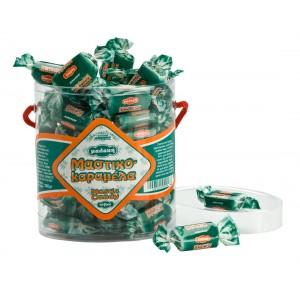 Bonbons mous au mastic de Chios. Boîte ovale 250g