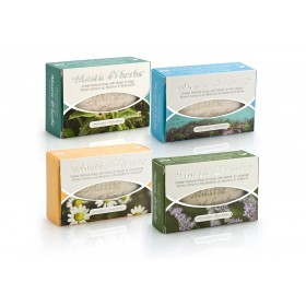 """4 natural """"Mastic & herbs"""" soaps with mastic"""