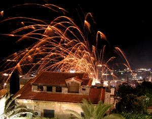 Ρουκετοπόλεμος Βροντάδος Χίος
