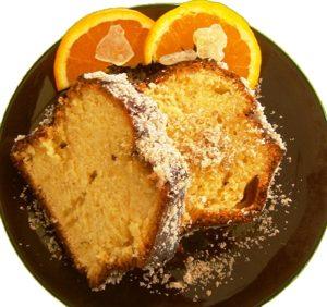 Κέικ Μαστίχα Πορτοκάλι