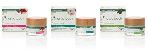 Mastic Touch face creams